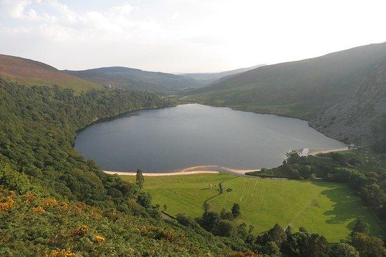 Wicklow, Irlanda: Loch in WiklowMountains