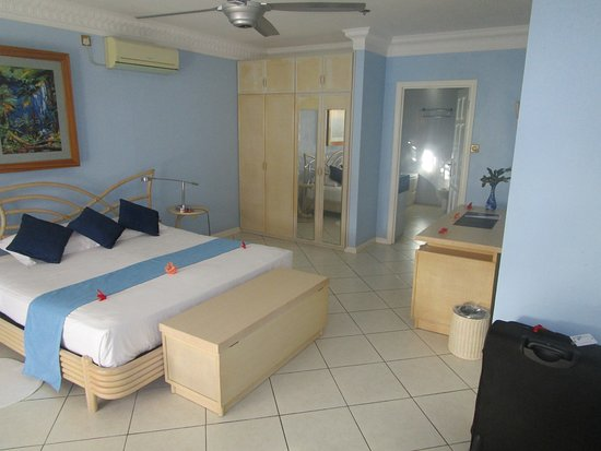 Cerf Island, Seszele: Zimmer oben
