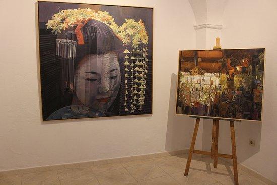 Jerez de los Caballeros, Spanien: Obras a la venta de artistas de la Galería