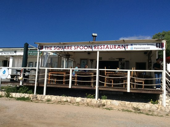 Paternoster, Zuid-Afrika: Set off from the road - easy to find