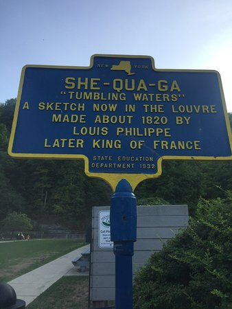 Montour Falls, estado de Nueva York: A future king of France was a tourist here