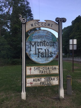 Montour Falls, NY: A future king of France was a tourist here