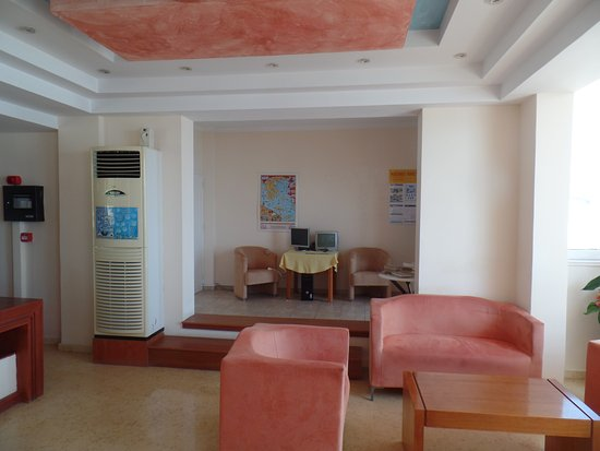 Hotel Corfu Maris Benitses: Лобби