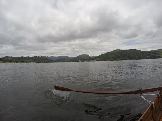 Bowness-on-Windermere, UK: View from the lake