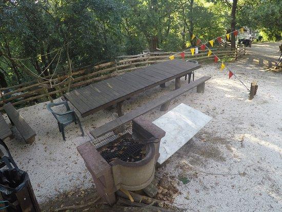 Morlupo, Ιταλία: Area Barbecue!