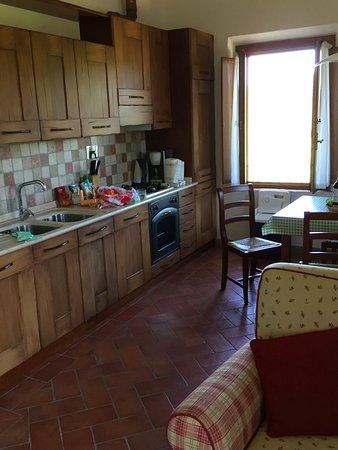 Montespertoli, İtalya: La cucina