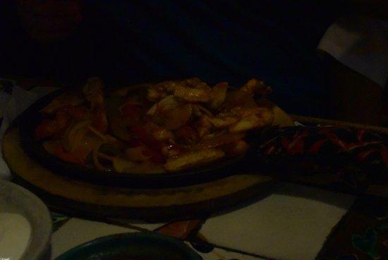 Chicken Fajitas Sorry It Is A Dark Photo Cantina Dos