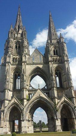Soissons, Francia: Abbaye Saint-Jean-des-Vignes