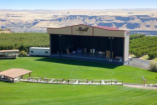 Goldendale, WA: Music stadium at Maryhill Winery