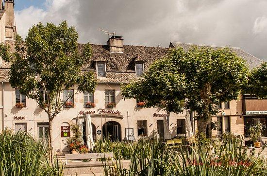Argentat, Francia: hotel restaurant Fouillade
