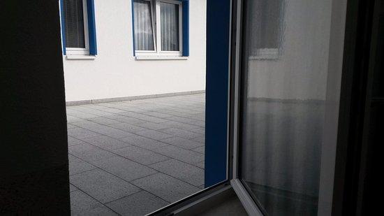 Nienhagen, Alemania: Zimmer mit Meerblick aus 3 Fenstern über Eck gebucht
