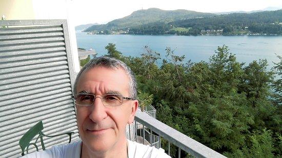 Techelsberg, Autriche : Una gran bella vista, peccato per la WiFi non funzionante in camera