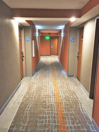 Holiday Inn Express Aberdeen - Chesapeake House : Corridor