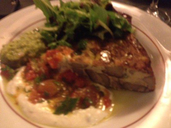 Cafe de la Fontaine: omelette cèpes