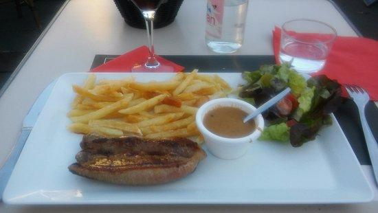 steak and a BBC Good Food.