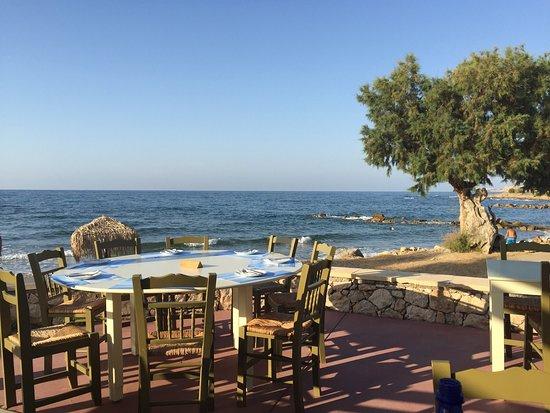 Stavromenos, Grecia: Herrlicher Blick!