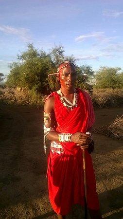 Clubviaggi Resort Twiga Beach & SPA: Un saluto al mio Masai preferito
