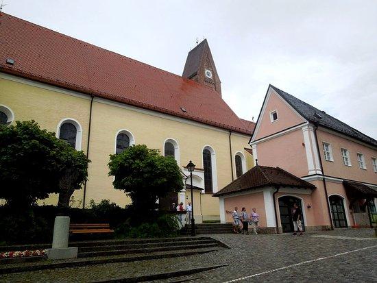 Bad Worishofen, Germania: вход с монастырского двора