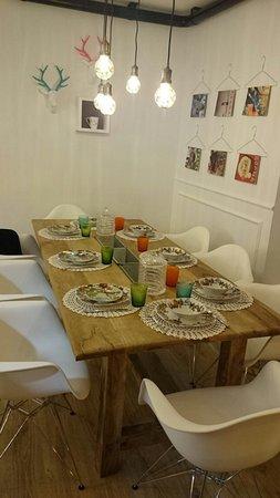 Mesa grande comedor: fotografía de Doña Maruja, Lalín ...