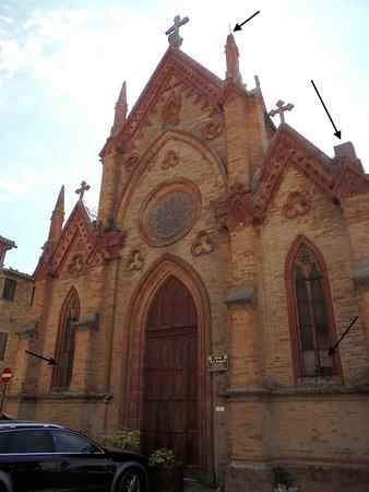 San Ginesio, Italia: Chiesa di San Gregorio