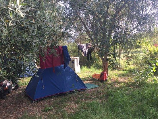 Portixeddu, Itália: essenziale veramente, ottimo spirito