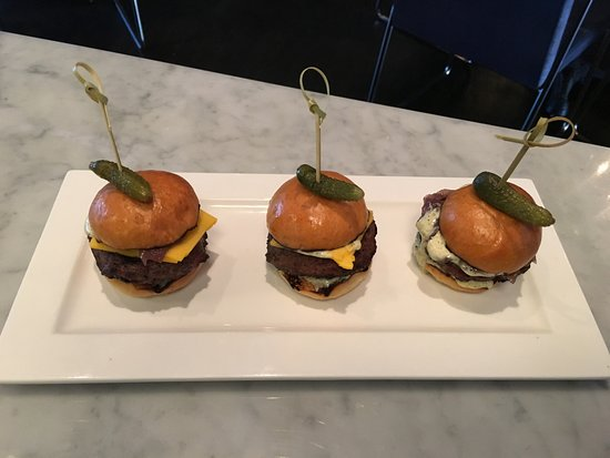 Roslyn, NY: Mouth Watering Sliders