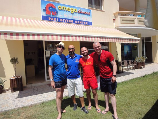 Omega Divers Chania Diving Center: At Omega Divers