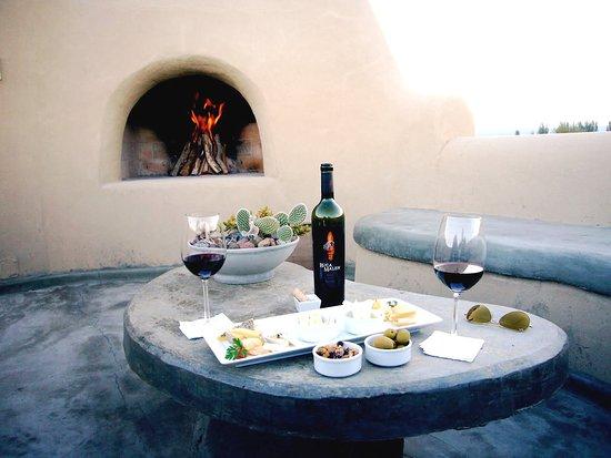 Cavas Wine Lodge: delicioso media arde pacompañanddo rico vinito...