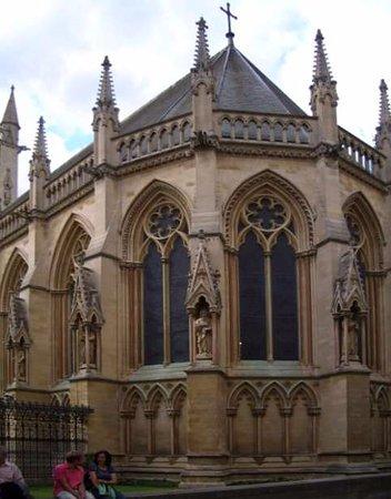 St. John's College: Particolare dell'esterno della Cappella