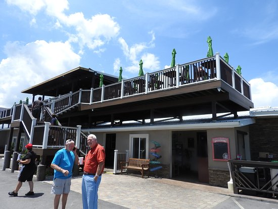 Top Deck Picture Of Oceanside Beach Bar And Grill Flagler