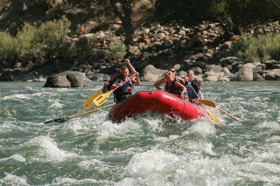 Wild West Rafting: momenti di rafting