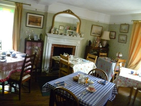 Sudbury, UK: Breakfast room