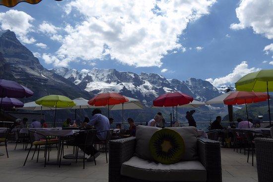 Hotel Bellevue: la terrasse