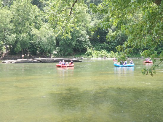 Harpers Ferry, Virgínia Ocidental: boating on the Potomac river