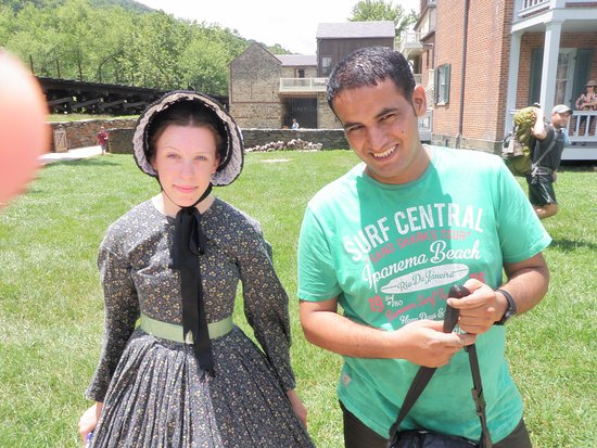 Harpers Ferry, Virgínia Ocidental: Park Guide with friend