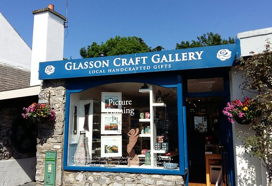 Athlone, Ierland: The Glasson Craft Gallery