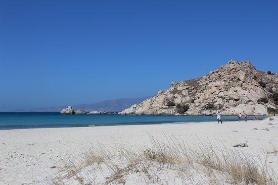 Mikri Vigla, Grecia: За скалой