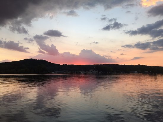 Afton Cruise Lines - St. Croix River Evening Sunset - August 2016