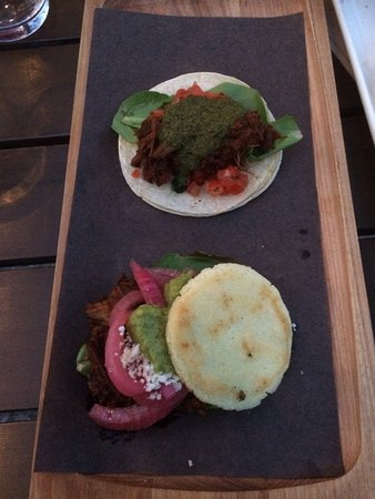 Fernie, Canada : Cubano taco and pork alepa