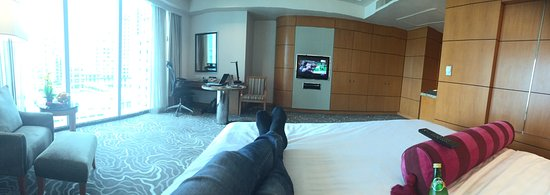 Pan Pacific Manila: Nice upgrade Loooooove it