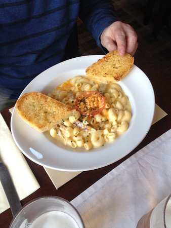 Dumfries and Galloway, UK: Macaroni Cheese.