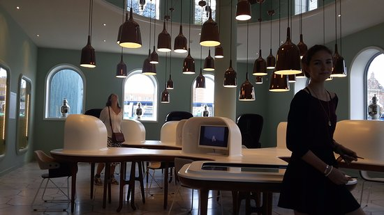 Groningen, The Netherlands: one of the rooms for visitors