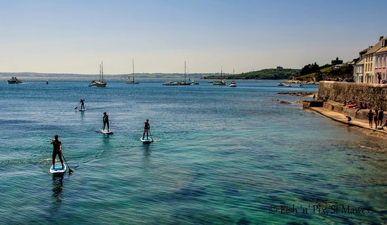 St Mawes Harbour by SUP!