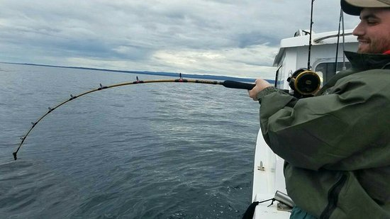 Ninilchik, AK: Great clients and some fishing shots.