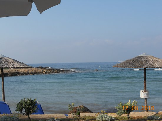 Veronica Hotel: Пляж отеля Олимпик