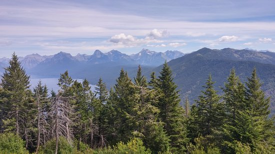 West Glacier, MT: The view from the lookout