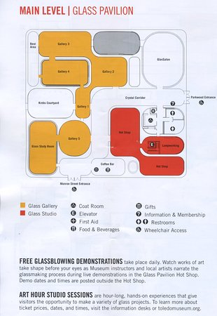 Toledo, OH: Floor plan for Glass collection building--note demos which are not to be missed