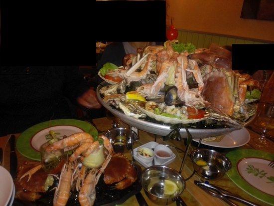 Chez Mimi : Plateau de fruits de mer