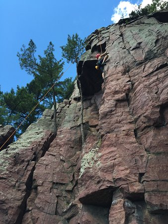 Devils Lake Climbing Guides : Couldn't have got this far without great instruction