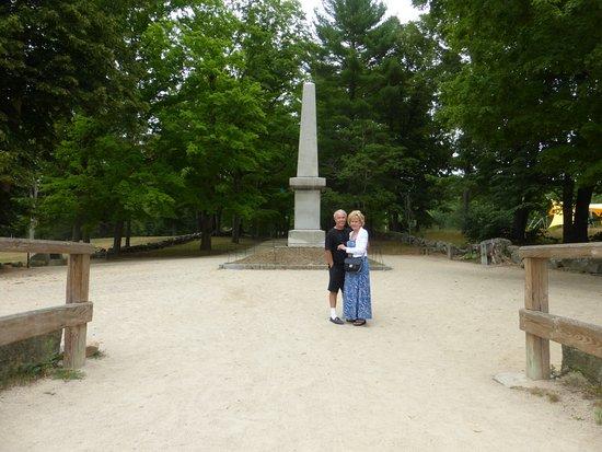 Concord, MA: British Were Over Here